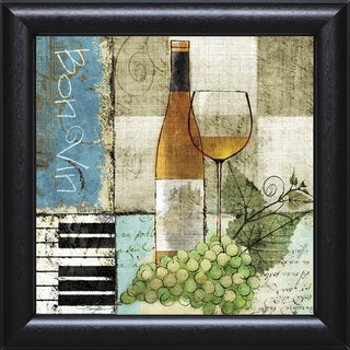 Keith Mallett-Bon Vin 22 x 22 Framed Art Print