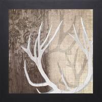 Tandi Venter 'Deer Lodge l' 31 x 31 Framed Art Print