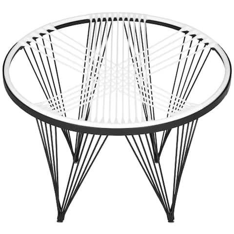 """Safavieh Launchpad White Chair - 36""""x36""""x28"""""""