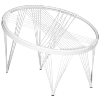 Safavieh Launchpad All White Chair