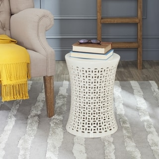 Safavieh Camilla Cream Garden Stool