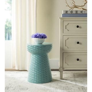 Shop Safavieh Daphne Cream Ceramic Decorative Garden Stool