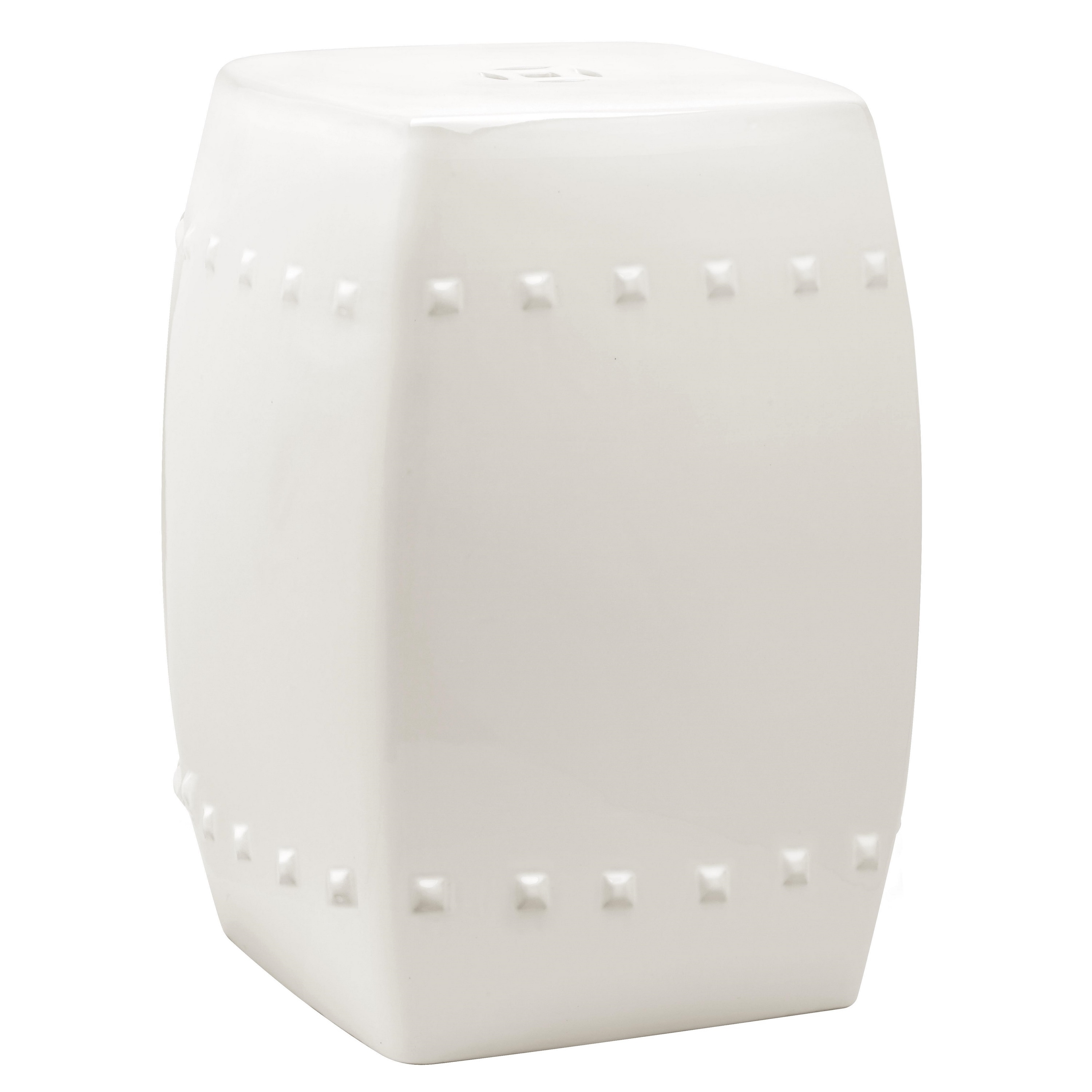 drum stools market garden world drums by lili pin metal punched stool white