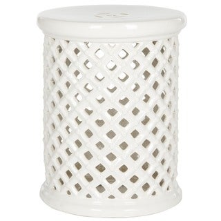 Safavieh Isola Cream Garden Stool