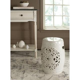 Safavieh Flora Cream Ceramic Decorative Garden Stool