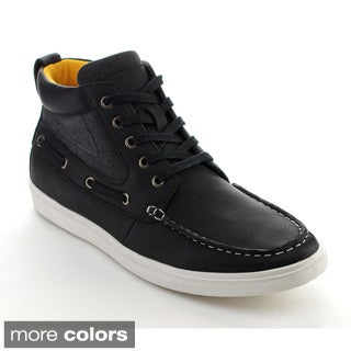 Arider BURT-02 Men's Vintage High-Top Lace Up Casual Sneakers