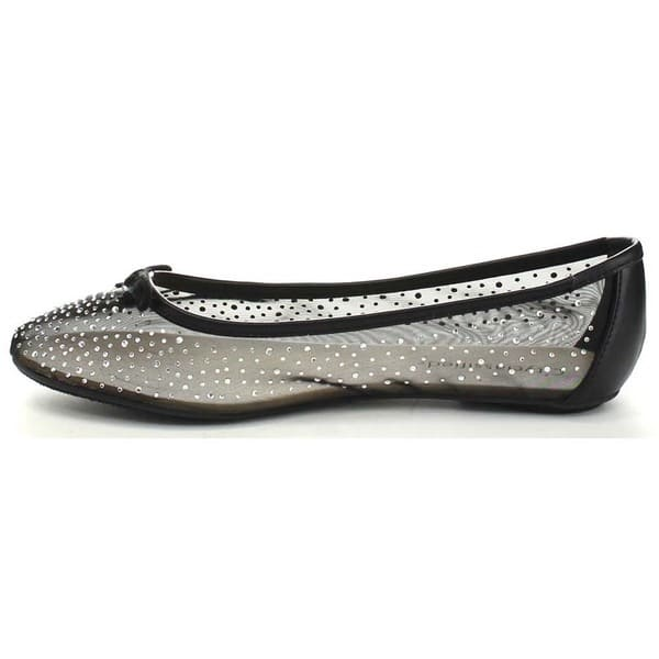 5e5e0cb67e2a8 Shop City Classified Warsa Women's Mesh Slip On Ballet Flat - Free ...
