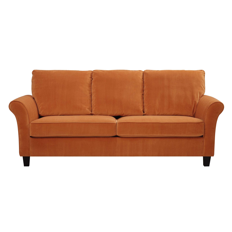 Sofa Bed Orange Orange Futon Couch From Target I Have