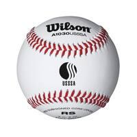 Wilson USSSA Raised Seam Baseball, 12 Pack