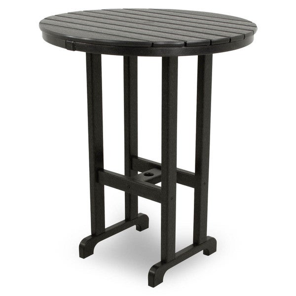 Shop Ivy Terrace Classics Round 36 Inch Bar Table Free