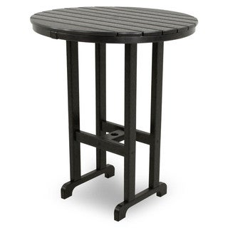 Ivy Terrace Classics Round 36-inch Bar Table (4 options available)