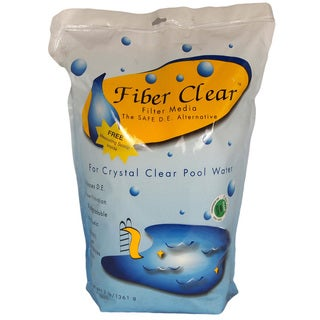 Fiber Clear Swimming Pool D.E. Filter Media Replacement