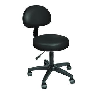 NRG Rolling Stool with Removable Back Rest