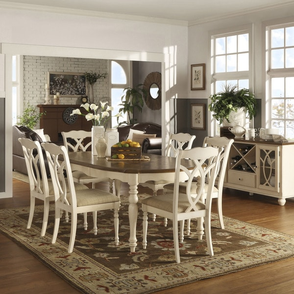 shayne kitchen table craigslist home country antique two tone white extending dining expandable drop leaf reviews