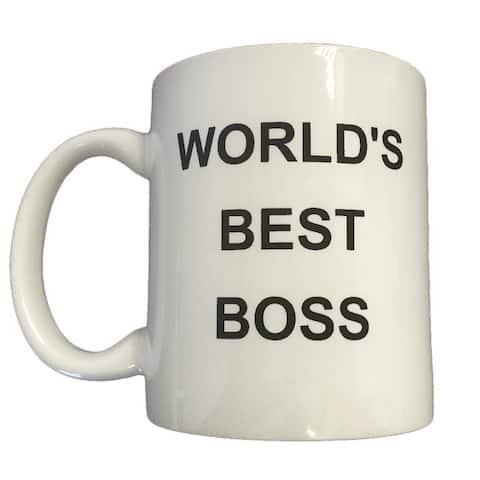 Michael Scott's 'World's Best Boss' Coffee Mug