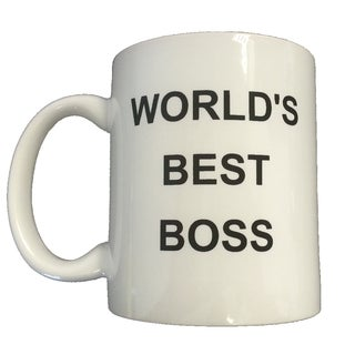 Michael Scott's 'World's Best Boss' Coffee Mug