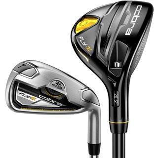 Cobra Men's Fly-Z Black 3-4H, 4-5H, 6-GW Iron Combo Set