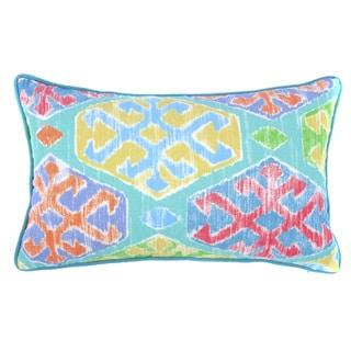 Jiti Outdoor Crayon Teal 20-inch Long Pillow