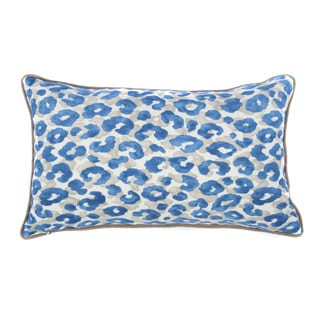 Jiti Outdoor Cheetah Blue 20-inch Long Pillow