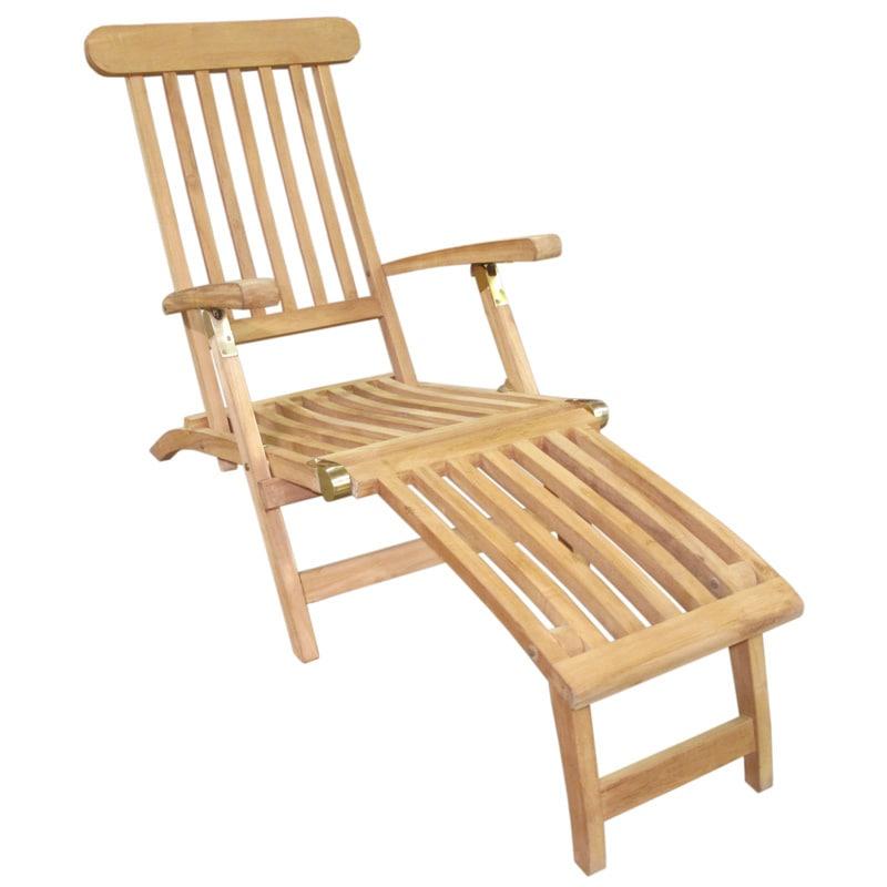 D-Art Teak (Brown) Wood Natural Finish Deck Steamer, Hand...