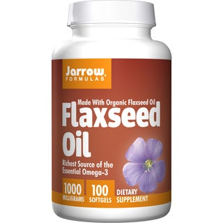 Jarrow Formulas Flaxseed Oil (100 Softgels)