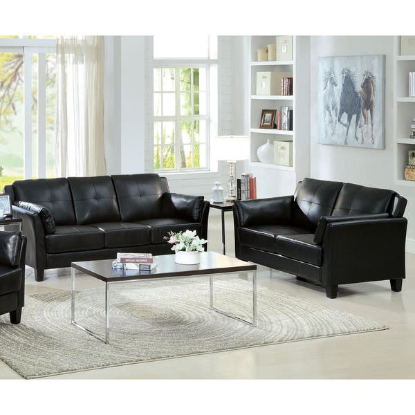Groovy Shop Pierson Contemporary Double Stitched Loveseat By Foa Uwap Interior Chair Design Uwaporg