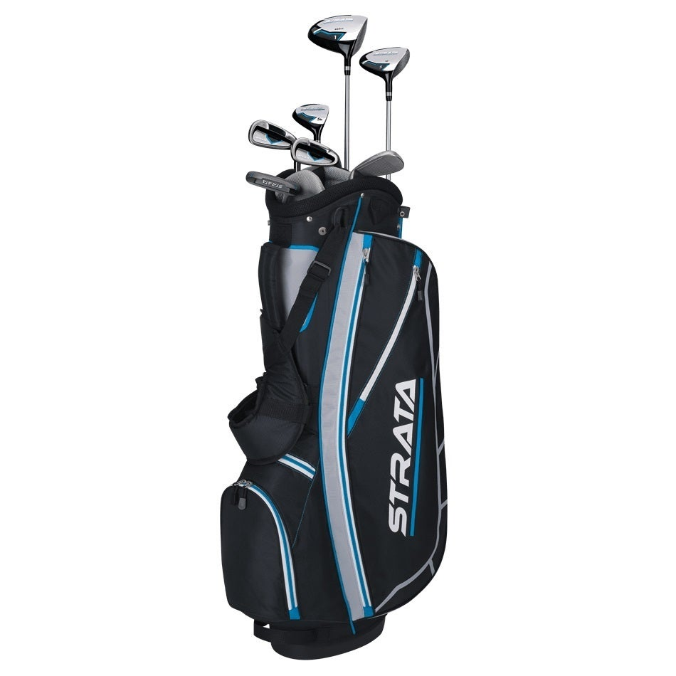 Callaway Women's Strata Golf Club Set With Bag (Black-Blu...