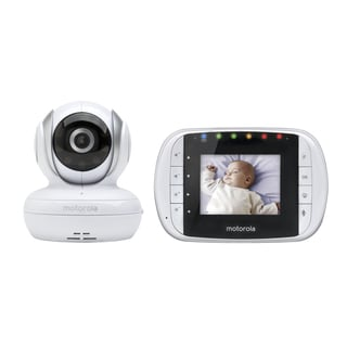 Motorola Mbp 18 Digital Wireless Video Baby Monitor Free