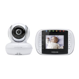 Motorola MBP33S 2.8-inch Digital Wireless Video Baby Monitor