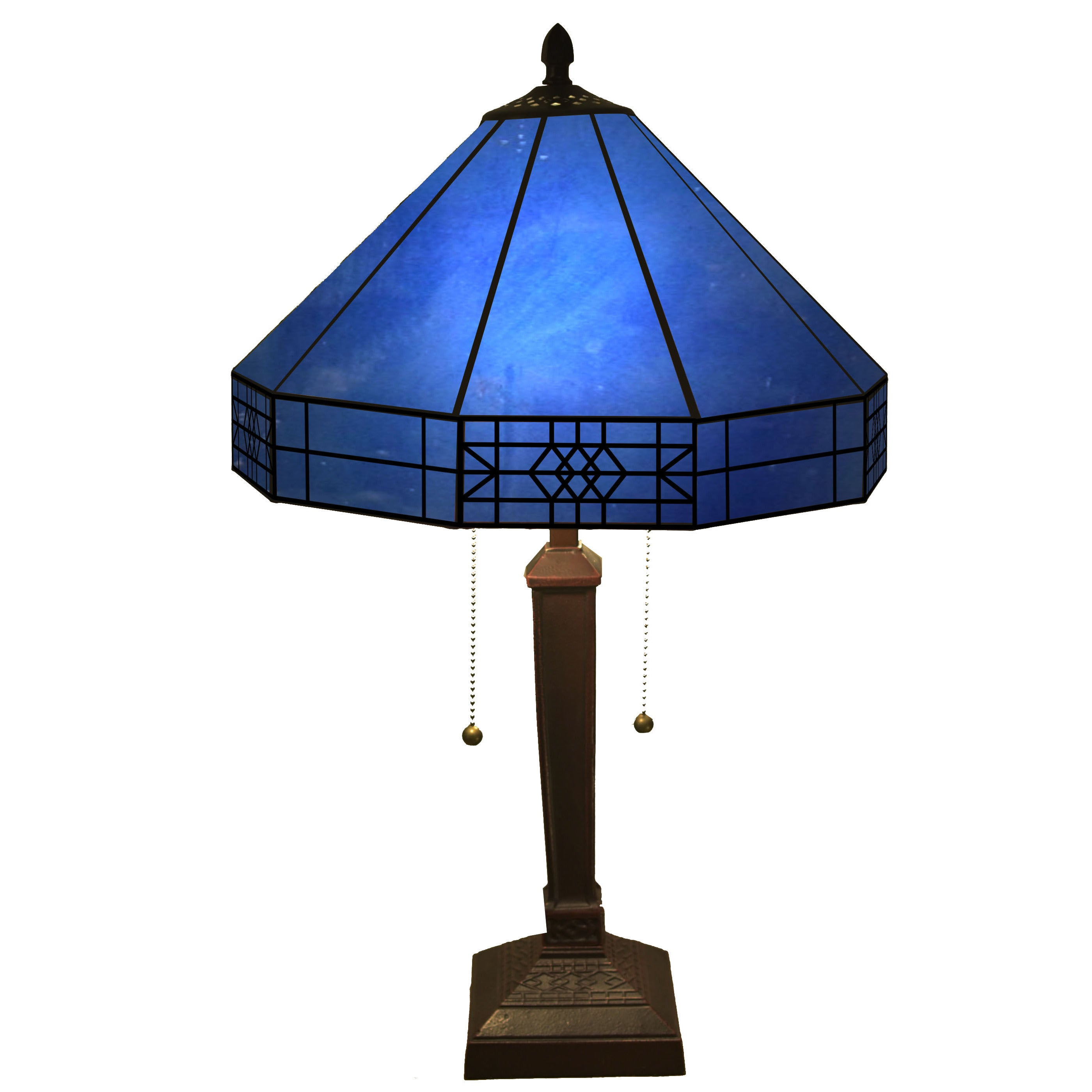 Image of: Shop Black Friday Deals On Maeve Tiffany Style 2 Light Table Lamp Overstock 9987862