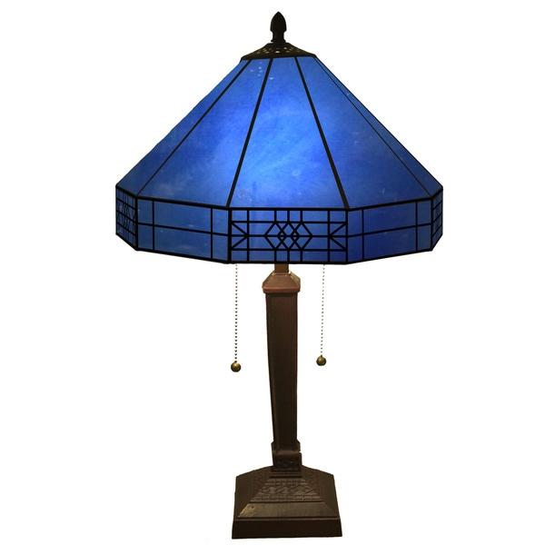 Maeve tiffany style 2 light table lamp free shipping today maeve tiffany style 2 light table lamp mozeypictures Choice Image