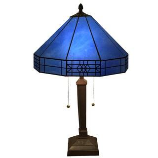 Maeve Tiffany-style 2-light Table Lamp