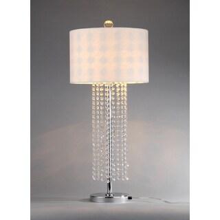Lottie 1-light Crystal Table Lamp