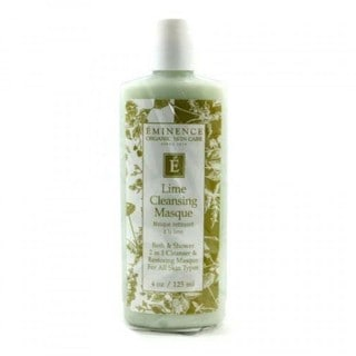 Eminence Organic Skincare 2-in-1 Lime Cleansing Masque and Bath and Shower Cleanser