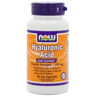 Now Foods Hyaluronic Acid Joint Support Capsules (60 Count)