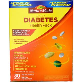 Nature Made Diabetes Health Pack (30 Packs)