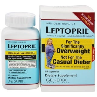 Link to Generix Laboratories Leptopril (95 Capsules) Similar Items in Weight Management