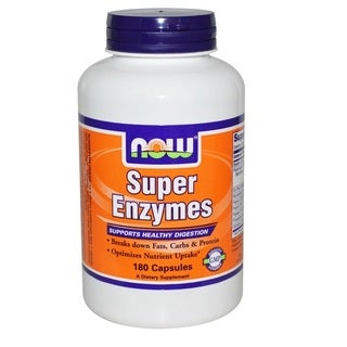 Now Foods Super Enzymes (180 Capsules)
