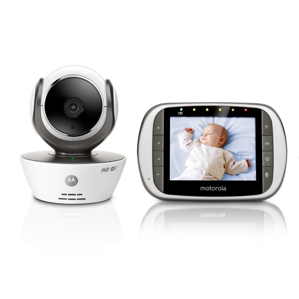 motorola digital video baby monitor with wi fi internet viewing free shipping today. Black Bedroom Furniture Sets. Home Design Ideas