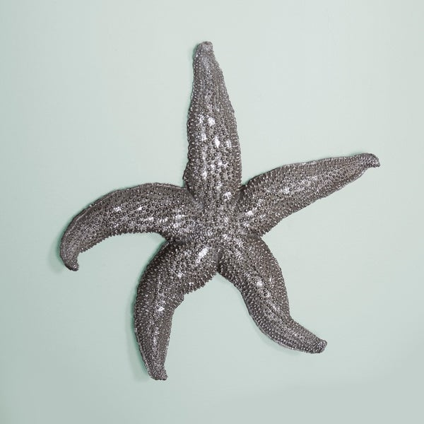 Deep Pewter Large Starfish