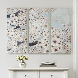 Madison Park Norm Wyatt Jr 'Gleeful Bloom Set' 3-piece Printed Embellished Canvas Set|https://ak1.ostkcdn.com/images/products/9988196/P17138847.jpg?impolicy=medium