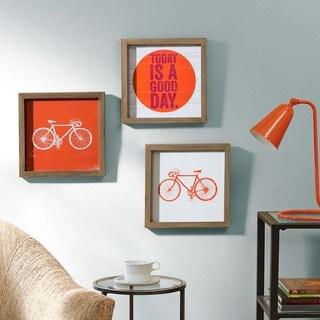 """Intelligent Design Evangeline Taylor """"Today Is A Good Day"""" Framed Gel Coated Paper 3-Piece Set"""