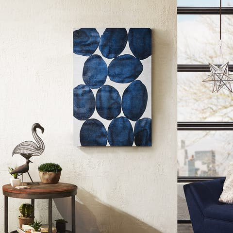 Carbon Loft Morgan Yamada 'Painted Puzzle' Embellished Canvas