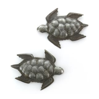 Handcrafted Recycled Steel Drum Mini Swimming SeaTurtles Wall Art (set of 2) (Haiti) https://ak1.ostkcdn.com/images/products/9988240/P17138881.jpg?impolicy=medium