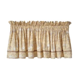 Serengeti Neutral Baby Window Curtain Valance