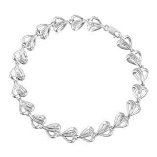 Divina Sterling Silver 1/2ct TDW Diamond Heart Bracelet (H-I, I2-I3)