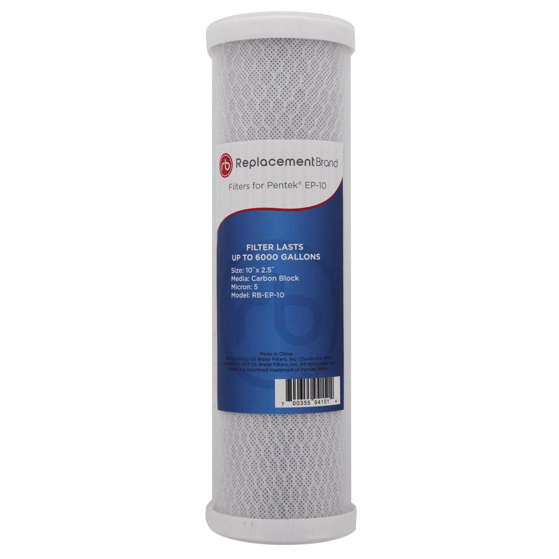 Dupont Pentek EP-10 Comparable Whole House Carbon (Black)...
