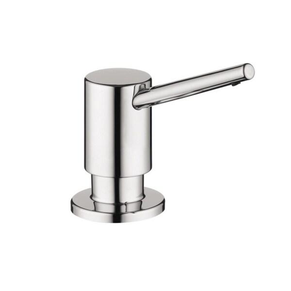 Hansgrohe Kitchen 04539800 Steel Optik Soap Dispenser - Free
