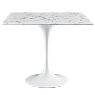 """Lippa 36"""" Marble Dining Table"""