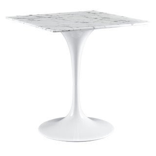 """Lippa 28"""" Marble Dining Table"""